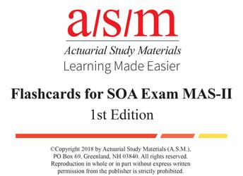 Actuarial Study Materials
